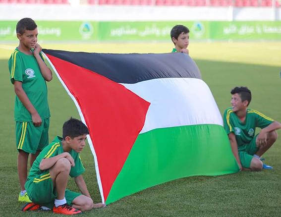 مباراة العراق وفلسطين - 2018