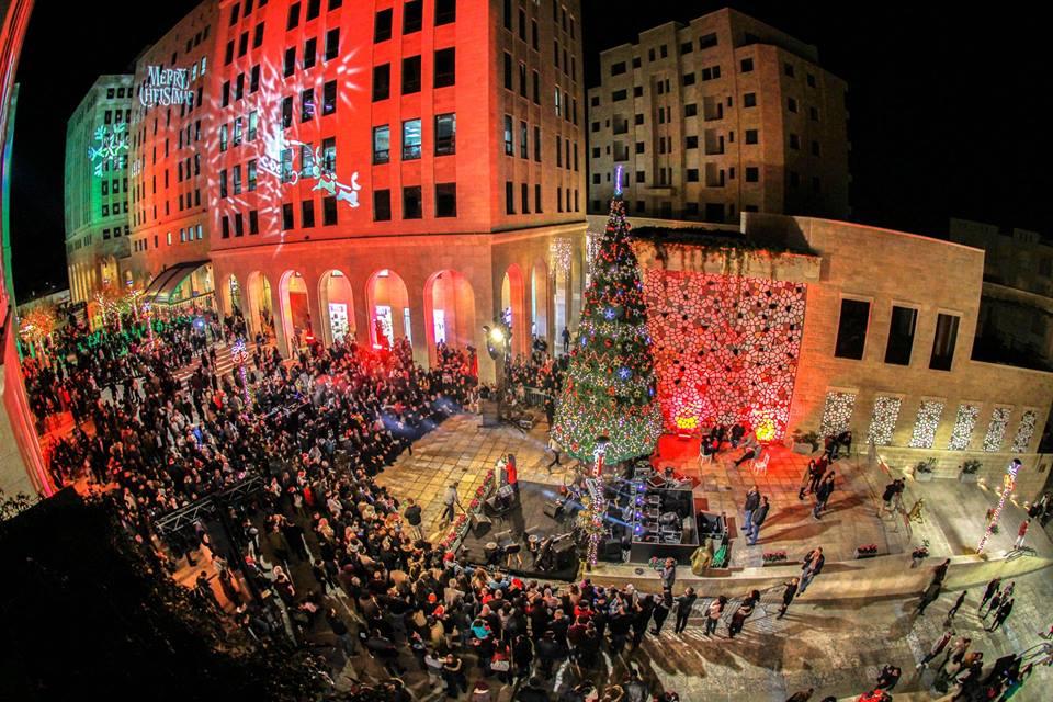 حفل اضاءة شجرة الميلاد - مدينة روابي 2018